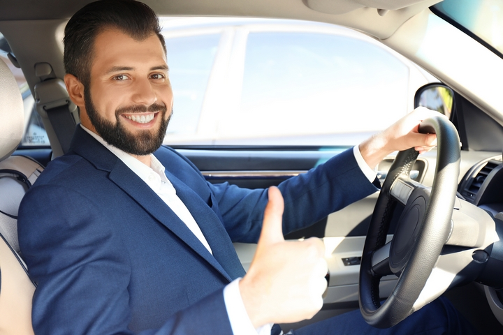 To ease your car travel anxiety, make sure the driver has a lot of energy and stamina.